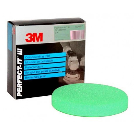 3M Perfect-It Foam Compound Pad, Orange, 150 mm - 09550