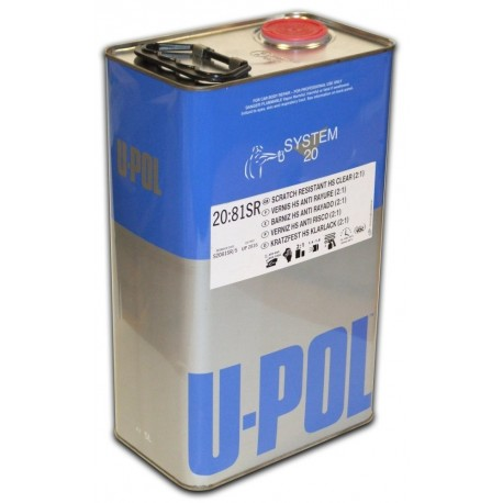 Upol 2K Scratch Resistant Clearcoat 5L