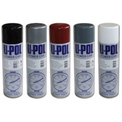 Upol Aero Powercan Satin Black 500ml