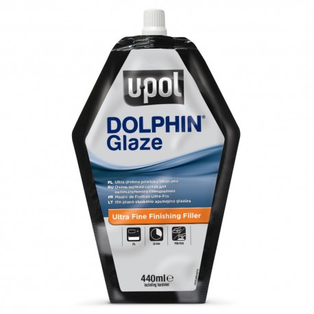 Upol Dolphin Glaze Fine Finishing Filler 440ml bag