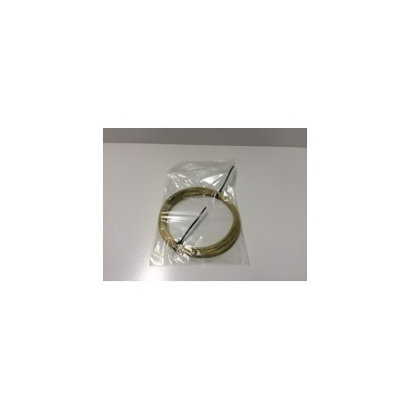 Braided Cheese Wire Gold 22m