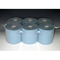 General Purpose Blue Paper Wipe (Pack of 6)
