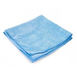 Blue Microfibre Cloth 40x40cm (Pack of 10)