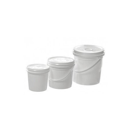 Plastic Mixing Pot & Lid 500ml