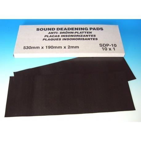 Sound Deadening Pads 190mm x 530mm (Pack of 10)