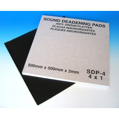 Sound Deadening Pads 500 x 500 (Pack of 4)