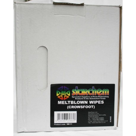 Box Solvent Wipe (Crows Feet)