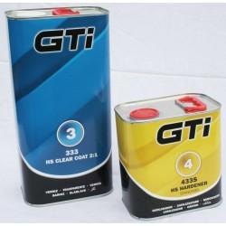 GTi 2:1 2K HS Clearcoat Kit GTI333 Clearcoat + 433 Standard Hardener