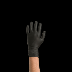 Colad Black Nitrile Gloves Large (Box of 60)