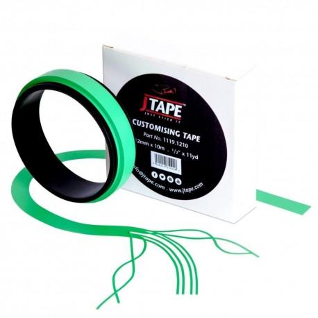 JTape Customising Tape Green 12mm x 10m