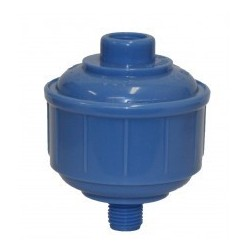 Fast Mover Plastic Spraygun Inline Water Trap 1/4BSP Thread