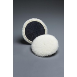 3M Perfect-It Wool Buffing Pad, White, 133mm