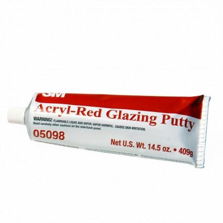 3M Acryl Putty, Red Glazing, 409g, PN05098