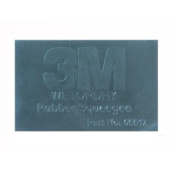 3M Wetordry Rubber Squeegee, 2 3/4 in x 4 1/4 in - by Grove