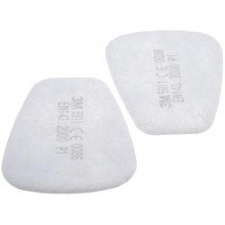 3M Bodyshop Particulate Pre Filters, P1, Qty of 30