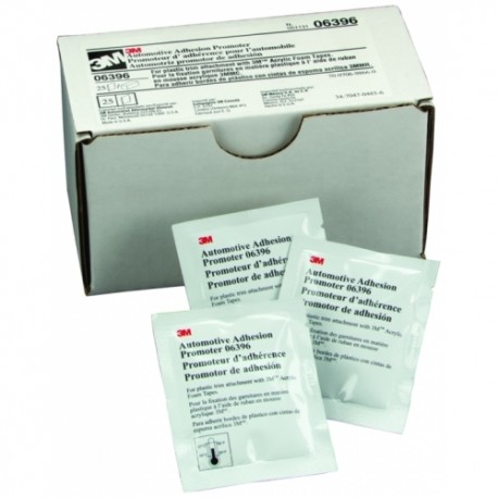 3M Flexible Plastic Patch Adhesion Promotor Wipe, Qty of 25