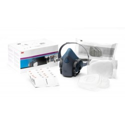 3M Respirator Starter Kit, A2P2 R Filter, Medium Half Mask, 06782