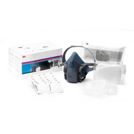 3M Respirator Starter Kit, A2P2 R Filter, Medium Half Mask, 06782