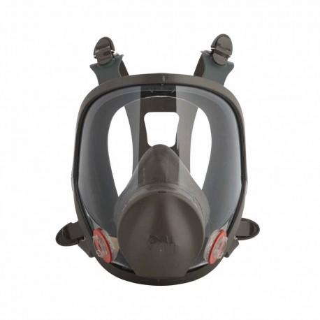 3M Reusable Full Face Mask Respirator, Dark Grey, Large