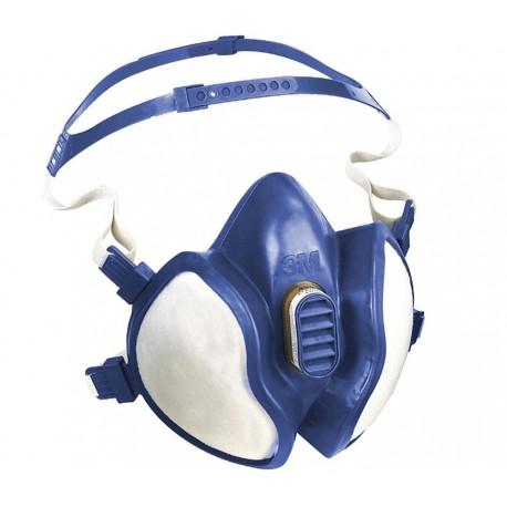 3M Maintenance Free Half Mask Respirator, FFAP3R D Filters