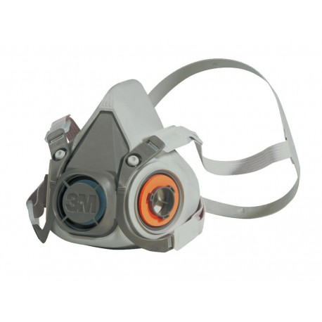 3M Medium Reusable Low Maintenance Half Face Mask