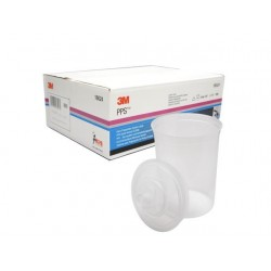 3M PPS Large Lids & Liners Kit, 200mu, Qty of 25 - 16024
