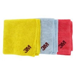Scotch-Brite 2011 High Performance Cleaning Wipe, Mixed Colours, Qty of 3