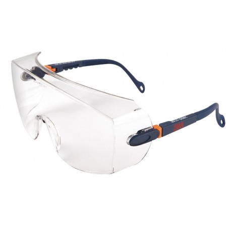 3M 2800 Series Overspectacles, Anti-Scratch, Clear Lens, 2800