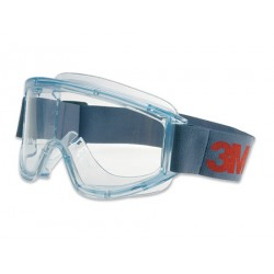 3M Safety Goggles, Anti-Scratch / Anti-Fog, Clear Lens
