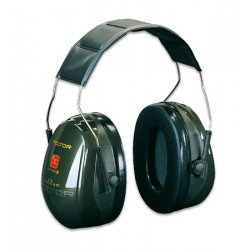 3M PELTOR Optime II Ear Muffs, 31 dB, Green