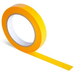 JTape 100oC Flat Orange Masking Tape 24mm x 50m (Single Roll)
