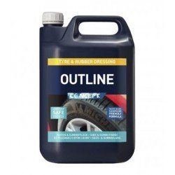 Concept Outline Tyre Dressing 5lt - by Grove