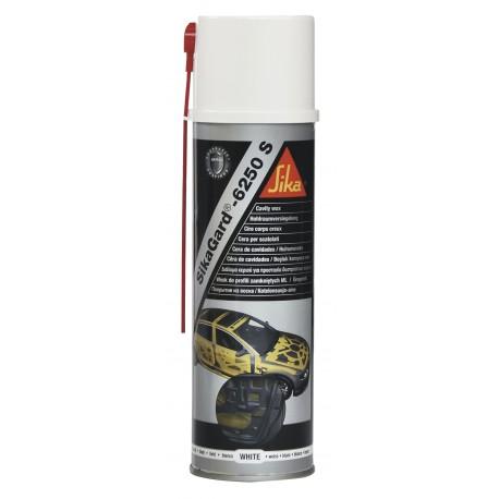 SiksGard 6250s White Cavity Wax 500ml aerosol