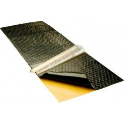 Indasa Sound Deadening Patterned Pads, 200 x 500mm, Pack of 10