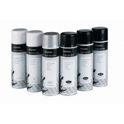 Indasa Aerosol Acrylic Satin Black, 500ml
