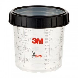 3M PPS Standard Cup & Collar 650ml