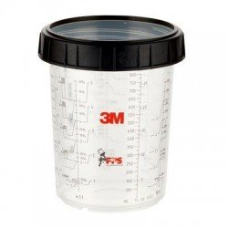 3M PPS Large Cup & Collar 850ml
