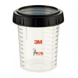 3M PPS Mini Cup & Collar 170ml