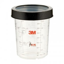 3M PPS Midi Cup & Collar 400ml - Pack of 2 - by Grove