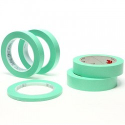 "3M Precision Masking Tape 1.5"" x 60 yards (8 pack)."