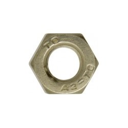 Stainless Steel Nuts, Grade A2, M5 (Pack of 200)