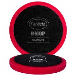 Farecla G Mop High Cut Red Foam Pads (Pack of 2) - by Grove