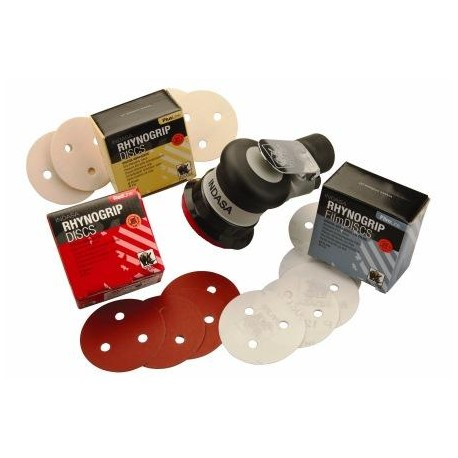 Indasa Plus Line Discs, 3 Hole, 75mm, Pack of 50 - by Grove
