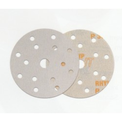 Indasa Rhynogrip HT Disc, 15 Hole, 150mm, Pack of 50 - by Grove
