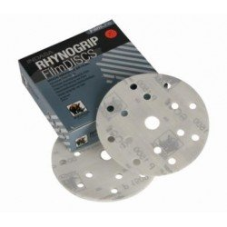 Indasa P800 Filmline Discs, 15 Hole, 150mm, Pack of 50 - by Grove