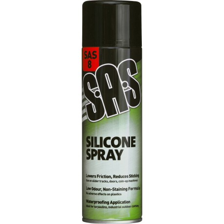 SAS Silicone Spray Aerosol, 500ml - by Grove