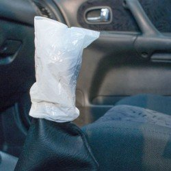 Cumbrian Gearstick Protectors in White Poly (Pack of 500).