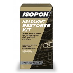 Isopon Headlight Restorer Kit, 300ml - by Grove