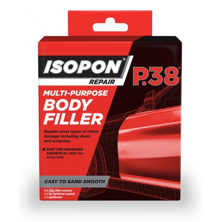 Isopon P38 Multi-Purpose Body Filler Portion Box - by Grove