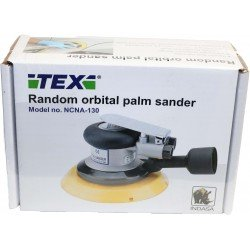 Tex 5mm Orbit Palm Sander, 150mm - by Grove